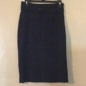 Grace elements black pencil skirt size 4.